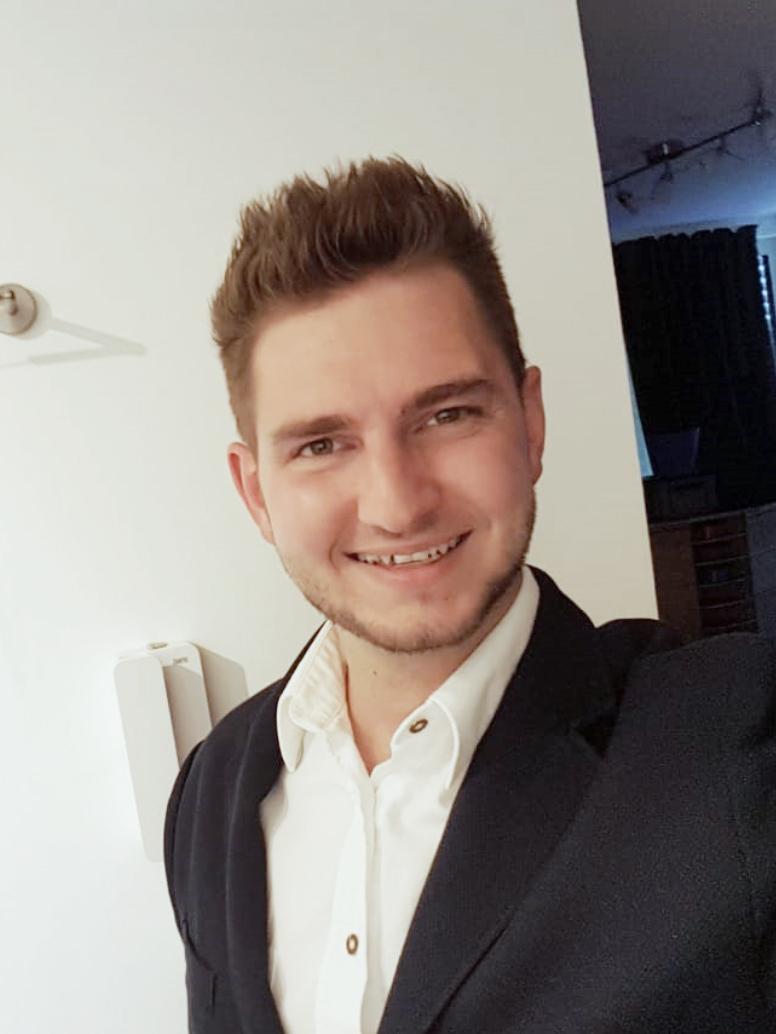 Technischer Leiter Sandro Dickbauer
